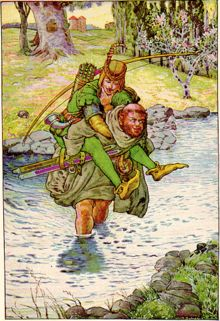 Robin Hood by Howard Pyle...One of my most favorite books...