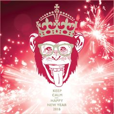Keep Calm and Happy New Year 2016