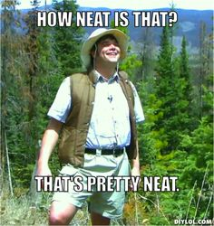 Neature walks anyone?! Hilarious!!!!