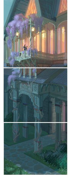 Mais um pouco da sensacional arte de Frozen   THECAB - The Concept Art Blog