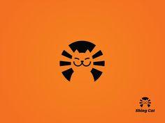 Shiny Cat logo by Dick Blacker