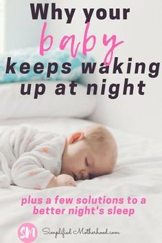 The best baby sleep tips to get your baby to sleep through the night. Learn how to recognize signs on why your baby isn't sleeping through the night. Find products to help them sleep in their crib by themselves. Our favorite sleep sack and other products Baby Sleep Routine, Baby Sleep Schedule, Help Baby Sleep, Kids Sleep, Toddler Sleep, Child Sleep, 6 Month Old Sleep, Baby Schlafplan, Sleep Training Methods