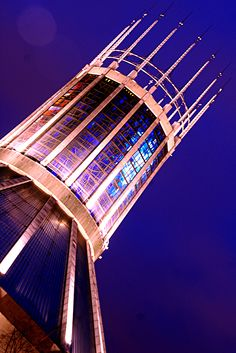 Paddy's wigwam, Liverpool, Merseyside. Liverpool Catholic cathedral.