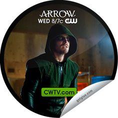 Steffie Doll's Arrow: Vertigo on CWTV Sticker   GetGlue