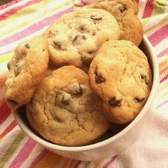 The Nestle Toll House Cookie Recipe is the first recipe many of us ever made, often with our mothers or grandmothers. This classic chocolate chip cookie recipe is one that has been enjoyed for decades. Just Desserts, Delicious Desserts, Yummy Food, Chip Cookie Recipe, Cookie Recipes, Nestle Chocolate Chip Cookies, Dessert For Dinner, Toll House, Classic Recipe