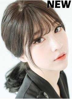 Image result for korean style see through bangs                                                                                                                                                                                 More