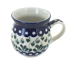 Polish Pottery Alyce Bubble Mug ** More info could be found at the affiliate link Amazon.com on image.
