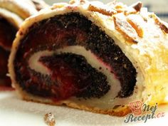 42 z Strudel, Dessert Recipes, Desserts, Cheesesteak, Bagel, Sushi, Sweet Tooth, Bread, Cookies