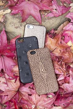 100% Embossed iPhone Leather Cases