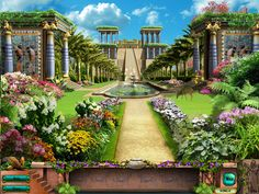 Hanging garden of Babylon - Pinner does not know all about the City of Babylon in the Bible! But I do know there was a city Babylon Destroyed by God back in Ancient Times.