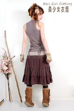 I would totally rock this as well, more my style with the top more fitted.