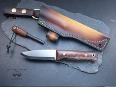 Bushcraft Knife/ Survival Knife/ Handmade by StoneyPathKnives