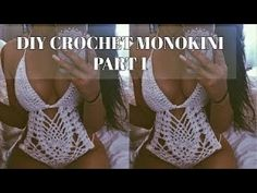 DIY CROCHET MONOKINI PART 1