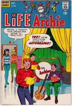 from $11.0 - Life With Archie 66 Strict Vg/fn 5.5  The Archie's! Pay 1st Shipping Fee Only