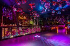 #tiki #interiordesign #cocktailbar #derby #cheekytiki #nightclub #moai #beachbar #tropicalbar