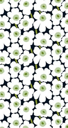 Marimekko Wallpaper, Print Wallpaper, Cute Wallpaper Backgrounds, Cute Wallpapers, Iphone Wallpaper, Background Pictures, Background Patterns, Botanical Prints, Floral Prints