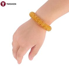 1.6$  Buy here - 1 Pcs Acupuncture Bracelet Wrist Massager Supplies Relaxation Stainless Steel Wrist Hand Massage Ring Health Care Tool   #aliexpressideas