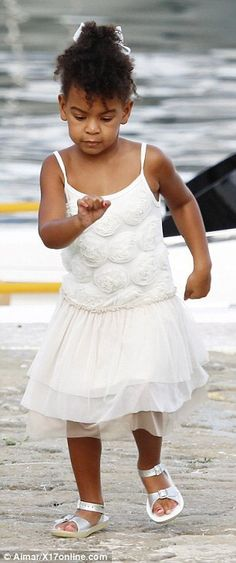 Blue Ivy in Monaco 16.09.2015
