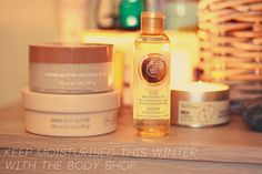 Keeping Moisturised With The Body Shop