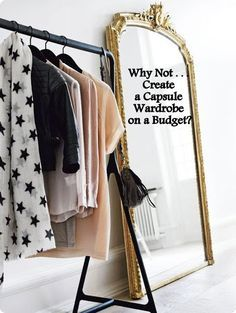 Thinking of creating a capsule wardrobe but think you have to spend a lot? Think again everyone can create a great capsule wardrobe even on a budget
