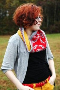 Wallpaper Cowl by Emma Welford from Holla Knits Accessories 2012