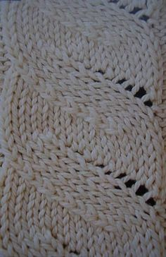 Illusions - the non-cabled cable. SKPO Sl 1 st as if to k, k the next st, pass the slipped st over the k st P2tog tbl purl 2 sts together through the back loops.
