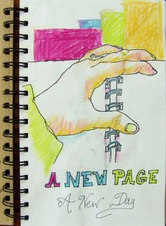 art journal ideas | Art journal idea | Journaling