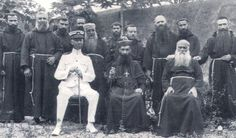 n 1914 Rome appointed Bishop Oláiz Apostolic Vicariate of Guam. Bishop Oláiz, center, with the Capuchin friars, and an official, in 1920.  C...