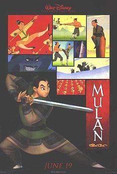 "Mulan"" Advance Original Movie Poster 1998 DISNEY for sale --- visit my website Animated Movie Posters, Disney Movie Posters, Disney Animated Films, Original Movie Posters, Disney Animation, Animation Film, Disney Pixar, Walt Disney, Disney Love"