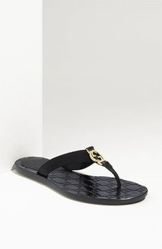 Great vacation flip flop. Gucci Logo Flip Flop Sandal available at #Nordstrom LOVE ! LLOVE! LLLOVE!