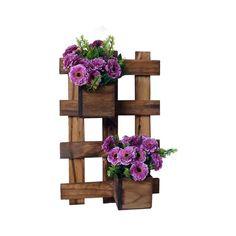 Resultado de imagem para cachepos e jardins verticais