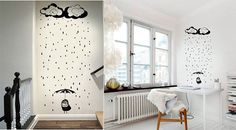 Vinilos infantiles - Decorar dormitorios infantiles - VINILOS Decorativos - Moda infantil y decoración - Charhadas.com