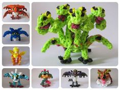 How to Train your dragon Rainbow Loom