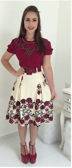 New Style Retro Vetement Ideas Modest Outfits, Skirt Outfits, Trendy Outfits, Dress Skirt, Casual Dresses, Summer Dresses, Cute Outfits, Trend Fashion, Cute Fashion
