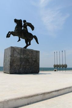 Alessandro Magno — en Tessaloniki Greece.