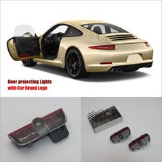For Porsche 911 20122014 Door Ghost Shadow Lights Price: $19.21 Buy From AliExpress:http://5.gp/mGFn