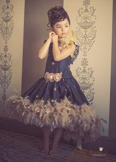 """La Reine d'Or""...A Gorgeous parisian Inspired Design Fit For Royalty!"