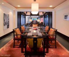 Chinese Dining Room Design Ideas Exotic Banyan Tree Lijian Resort Combining With Modern Luxury Interior