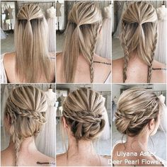 Instant Bun Tutorials For Last Minute Office Calls - OutfitCafe,Bun Tutorials. - Instant Bun Tutorials For Last Minute Office Calls – OutfitCafe, - Formal Hairstyles, Braided Hairstyles, Layered Hairstyles, Hairstyle Braid, Fashion Hairstyles, Braid Hair, Braided Updo, Hairstyles Haircuts, Bun Tutorials