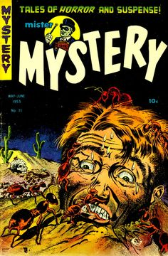 Mister Mystery (No.11, June 1953)Cover Art by Bernard Baily