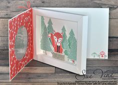I just love the Foxy Friends stamp set, and love creating 3D projects  like this  - so why not combine both of these to create a special car...