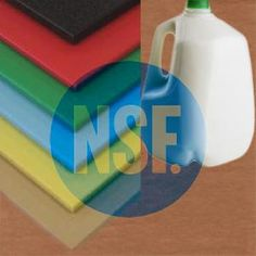 Food grade and NSF approved Cutting Boards made from Virgin HDPE sheet and sheets. These cutting boards are available in the standard white and 5 other colors.
