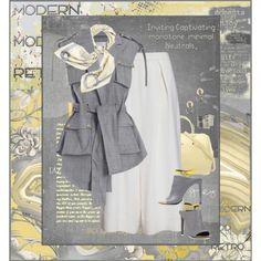Sun & Smog by halebugg on Polyvore featuring Zimmermann, Balenciaga, Furla, Panacea, Hermès, BD Fine, Nina Campbell, SANDERSON, Damsel in a Dress and Aime