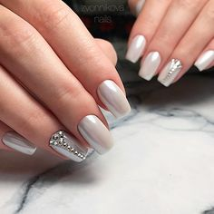 We have taken all the trendy dress colors into consideration and researched for all the best nail shades to reflect all the beauty of your dress. #nails #nailart #naildesign#promnails
