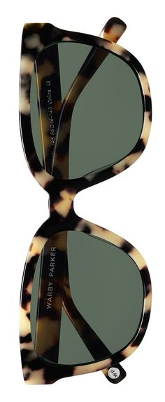 The tortoise frame on these sunglasses will look totally retro-glam paired with a red lippy.