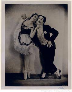 La boutique fantasque : [Alexandra Danilova et Léonide Massine (les danseurs de can-can)] / [photographie de Maurice Seymour]