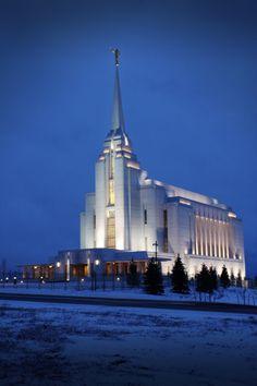 Rexburg LDS Temple.    #MormonLink #LDSTemples