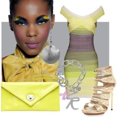 """""""Yellow"""" by vronvron on Polyvore"""