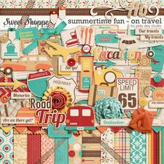 Summertime Fun - On Travel by Jady Day Studio