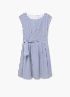 Poplin dress | MANGO